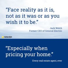 It's Time We Had A Realistic Discussion About Your Home's Value http://lightersideofrealestate.com/education/time-realistic-discussion-homes-value