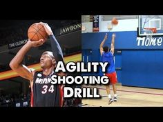 Agility Shooting Drill for Basketball: Trace the Lane - YouTube