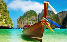 Free Image on Pixabay - Bay, Beach, Boat, Exotic, Idyllic Beach Wallpaper, Summer Wallpaper, Images Wallpaper, Paradise Wallpaper, Tropical Wallpaper, Wallpaper Ideas, Wallpaper Backgrounds, Summer Pictures, Beach Pictures