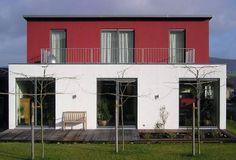 Häuser Bauhausstil mit hochmoderner Haustechnik