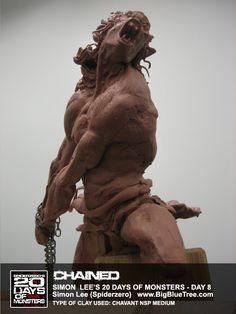 The Art of Simon Lee - Spiderzero - Concept Artist, Creature Designer, Sculptor, teacher Toy Art, Outdoor Sculpture, Sculpture Art, Zbrush, Simon Lee, Traditional Sculptures, 3d Figures, 3d Studio, Creature Concept