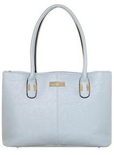 Blue mutli compartment tote