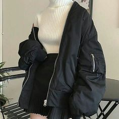 Look at this Stylish korean fashion outfits Teen Fashion Outfits, Edgy Outfits, Cute Casual Outfits, Mode Outfits, Korean Outfits, Grunge Outfits, Cute Fashion, Girl Outfits, Fashion Ideas