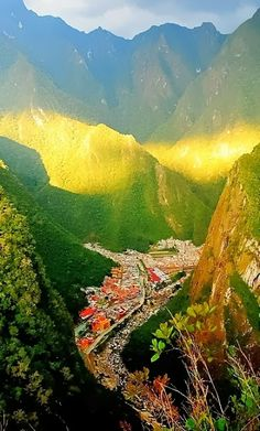 Aguas Calientes, Peru >>> This photo is so inspiring. This year, let's go here, sit in the warm sun and feel the mountain air. This world is really awesome. The woman who make our chocolate think you're awesome, too. Please consider ordering some Peruvian Chocolate http://www.amazon.com/gp/product/B00725K254