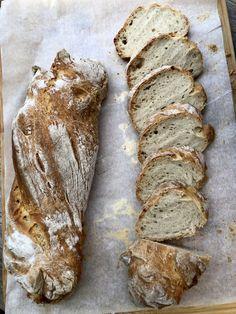 Csavart rozsos vekni - GastroHobbi Bread Recipes, Cake Recipes, Croissant Bread, Ring Cake, Ciabatta, Canapes, Toscana, Bread Rolls, Scones