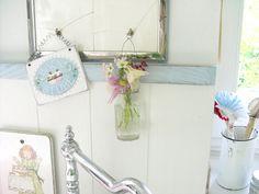 Heart Handmade UK: Punktchengluck Shabby Chic Kitchen Inspiration | Dream Homes