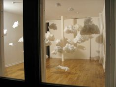 Cloud Chamber by Samantha Clark. Photo by Lucy Reynell, #Installation #Clouds