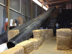 Indoor barn slide Indoor Slides, Hay Loft, Loft Ideas, Big Houses, Pretty Pictures, House Ideas, New Homes, Barn, Outdoors