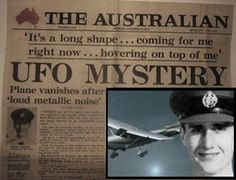 "Valentich has been presumed dead since October 21, 1978, when he disappeared while manning a small plane to King Island in Australia. Shortly before his disappearance, he asked Australian authorities to verify if other aircraft were in his vicinity after seeing a strange aircraft with green lights. Valentich's eerie last words were, ""That strange aircraft is hovering on top of me again. It is hovering and it's not an aircraft."" Valentich and his plane haven't been seen since."