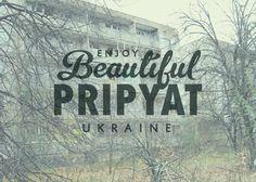 Ironic Postcard: Pripyat