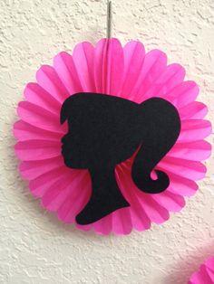 Barbie Birthday Party Decorations 5 Pink by TheGirlNXTdoor