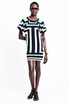 Stripes-on-stripes from Mara Hoffman
