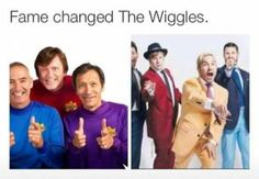 The wiggles were my first fandom so that makes perfect sense