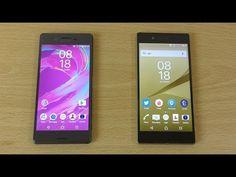 Sony Xperia X Performance vs X vs Z5 vs Z5 Premium - Speed Test! - YouTube