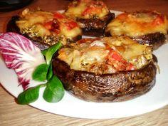 Portobello, Baked Potato, Ham, Steak, Food And Drink, Veggies, Potatoes, Treats, Vegan