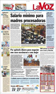 #Portadas #PrimeraPagina #Titulares #Noticias #DesayunoInformativo @EldiarioLaVoz