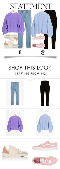"""""""Untitled #2337"""" by sabina-127 ❤ liked on Polyvore featuring Monki, Veja and Vans"""