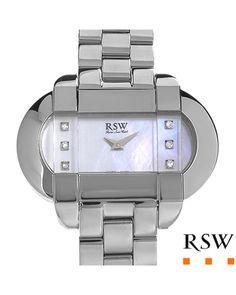 Brand New RAMA SWISS WATCH Made in Switzerland Stainless Steel  SapphireWomen #Jewelry