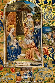 The Adoration of the Magi. Rouen, France, early 16th century