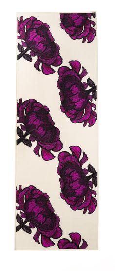 Vallila Interior AW14, Isadora rug cream lilac 80x230cm
