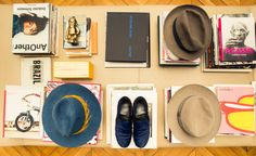 """""""My love for hats began with this Hermès hat. I bought it when I was 19 years old at Motsch on Avenue Georges V."""""""