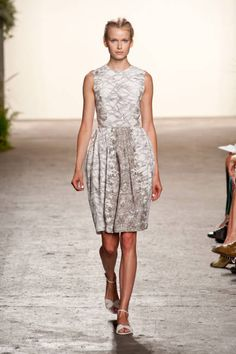 Gray Trend #NYFW Spring 2013, Honor dress