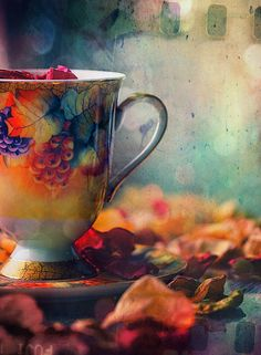The perfect cup of Autumn tea... <3