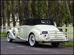 1937 Packard Twelve Victoria Convertible