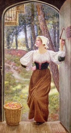 Tithe in Kind. Edward Robert Hughes