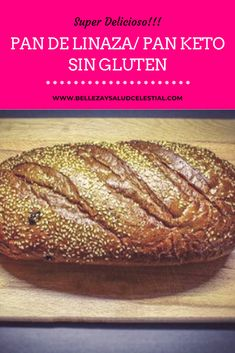 Keto Recipes, Healthy Recipes, Pan Dulce, Pain, Brunch, Food And Drink, Low Carb, Cooking, Ethnic Recipes