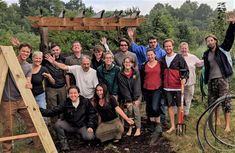 Take your PDC Course on a developing permaculture site in Ohio that now has a barn made from shipping continers, a newly dug pond, food forests and more. Permaculture Design Course, Bending, Couple Photos, Couple Shots, Couple Photography, Couple Pictures