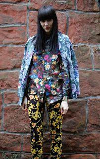 Ashlees Loves Prints On Prints Printsonprints Mixed Prints Fashion Style