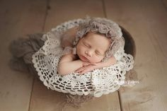 Lace Bonnet Newborn Bonnet Baby Bonnet Baby Photo Prop