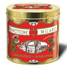 Great Value Chiostro di Saronno Panettone Limoncello, Amazon Auto, Italian Cake, Baking Accessories, Metal Tins, Coffee Cans, Candied Fruit, Holiday Recipes, Virgin Party Drinks