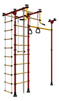 If I ever get a swing set for the kids, I want this indoor jungle gym/swing set for the basement by LIMIKIDS