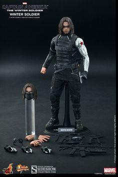 Captain America Winter Soldier Sixth Scale Figure