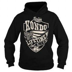 Cool Last Name, Surname Tshirts - Team KONDO Lifetime Member Eagle T shirts