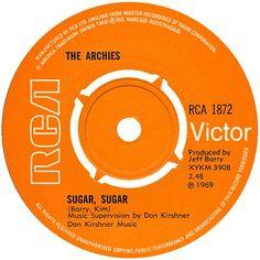 Sugar, Sugar by The Archies ~ 1969