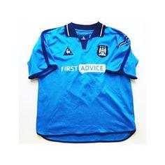"c83ada137 Iconic Kits on Instagram  ""Retro city Link in bio to shop ☝ "". Manchester  CityFootball ShirtsRetro VintageFootball ..."