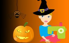 Spooky Sewing - Treat Bag & Cape http://www.themakermill.com/workshops/stylish-students-beginner-sewing-saturday