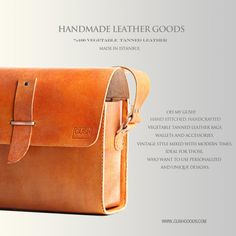 Looking for more handmade leather products? Check out the rest of the store… http://www.etsy.com/shop/gushleather