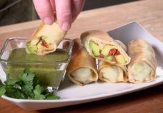 Baked Avocado Rolls | Baked Avocado Rolls
