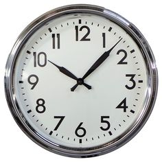 "Schoolhouse 20"" Wall Clock - Threshold™ : Target"