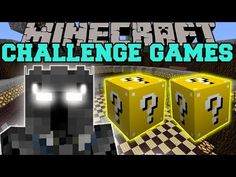 Minecraft: RADIOACTIVE SPIDER CHALLENGE GAMES - Lucky Block Mod - Modded Mini-Game - YouTube