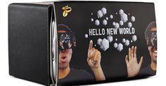 Tchibo bietet mit der Tchibo VR-Smartphone-Brille erstmals ein Virtual Reality-Gadget an, welches an das Google Cardboard erinnert.
