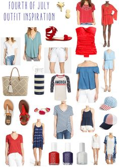 Fourth of July Outfit Inspiration | The Adorned Life