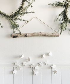 DIY Tiny Star Wall Hanging + Scandinavian Gatherings book GIVEAWAY - Delineate Your Dwelling