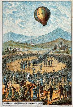Montgolfier Balloon Flight, June 1783