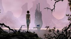 the longest journey: april and the castle, 2 Best Pc Games, The Longest Journey, Young Art, Her World, Long A, Drawing Reference, Female Characters, Game Design, Concept Art