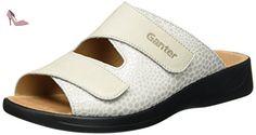 Ganter Monica-G, Mules Femme, Beige Foncé, 38.5 EU - Chaussures ganter (*Partner-Link)